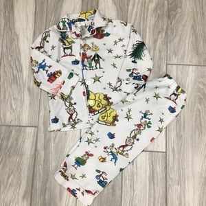 Pottery Barn Grinch Pajamas 3T